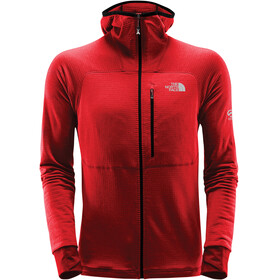 The North Face M's L2 Proprius Fleece Hoodie Jacket Fiery Red